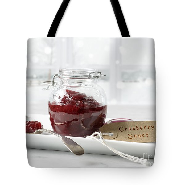 Cranberry Sauce Tote Bag