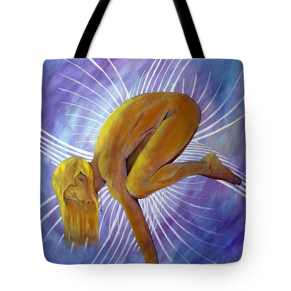 Crane Tote Bag by Denise Deiloh