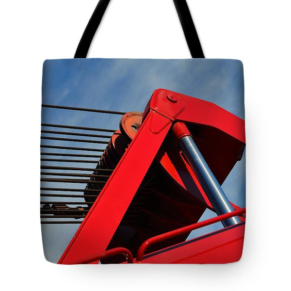 Crane - Photography By William Patrick And Sharon Cummings Tote Bag by Sharon Cummings