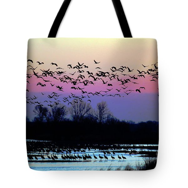 Crane Watch 2013 Tote Bag