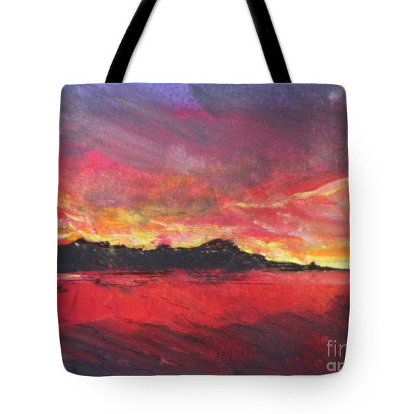 Cranes Beach Sunset Tote Bag