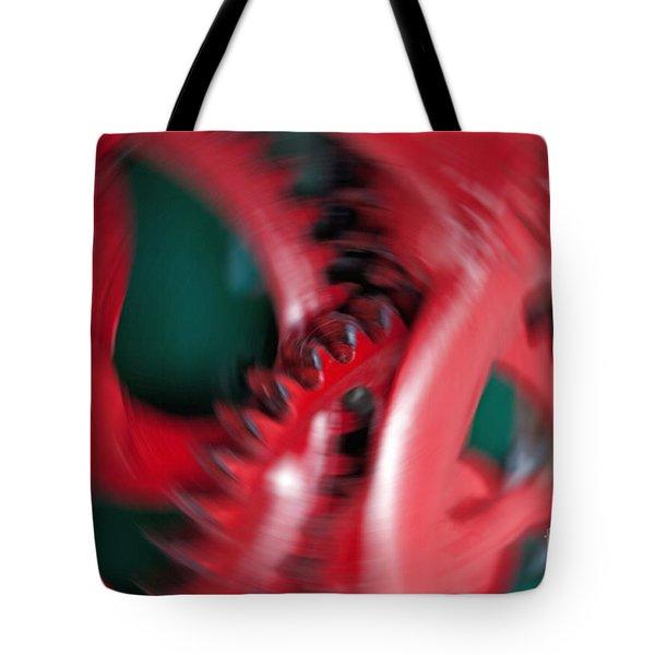 Cranking Tote Bag by Gwyn Newcombe