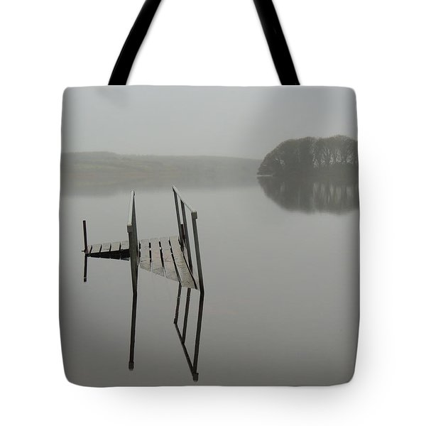 Crannog At Lake Knockalough Tote Bag