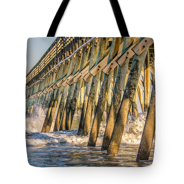Tote Bag featuring the photograph Crash by Rob Sellers
