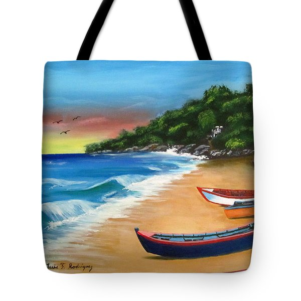 Crashboat Beach Wonder Tote Bag by Luis F Rodriguez