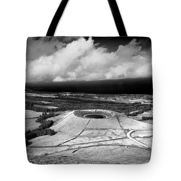 Crater Lake In Azores Tote Bag by Gaspar Avila