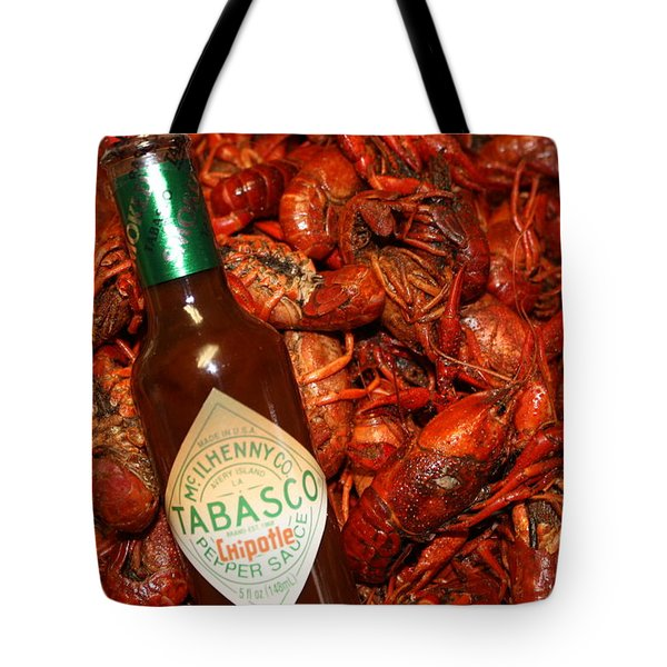 Crawfish And Tabasco Tote Bag