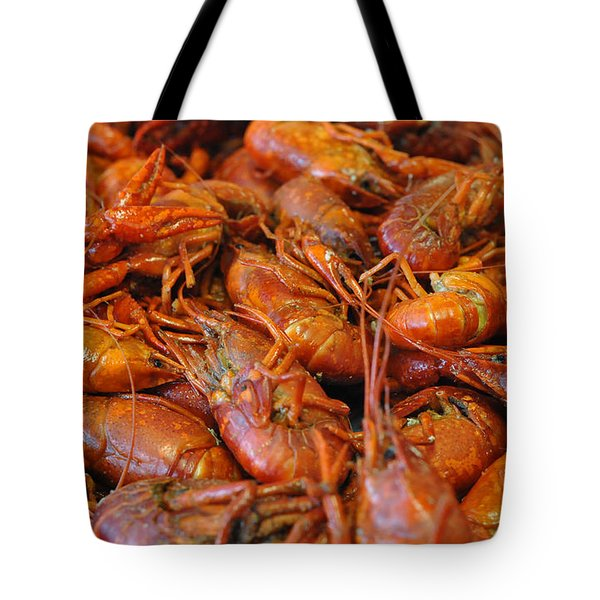 Crawfish Boil Tote Bag by Steve Archbold