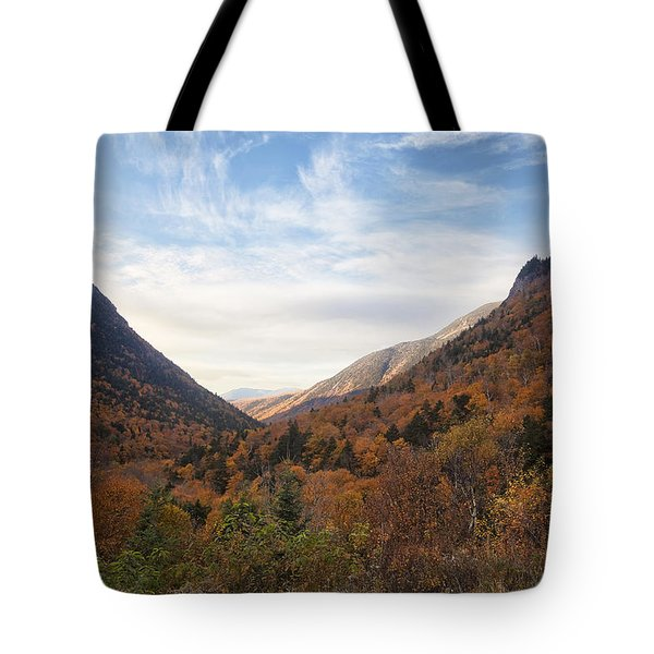 Crawford Notch Colors Tote Bag