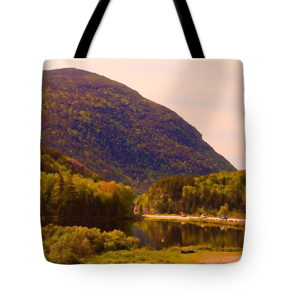 Crawford Notch Homage To Thomas Cole Tote Bag