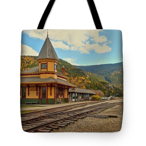 Crawford Train Depot - New Hampshite Tote Bag