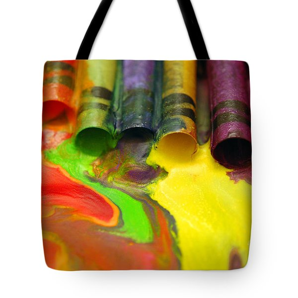Crayon Cooperation Tote Bag