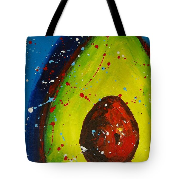 Crazy Avocado V Tote Bag
