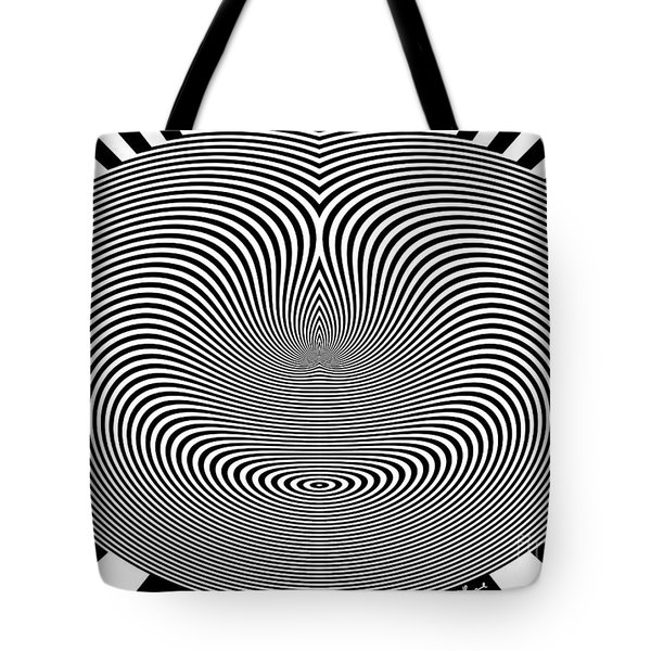 Crazy Circles Tote Bag by Methune Hively