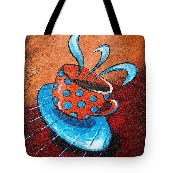 Crazy Coffee Tote Bag