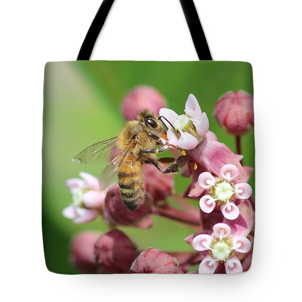 Crazy For Milkweed Tote Bag by Lucinda VanVleck
