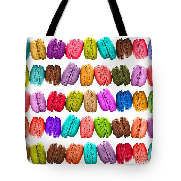 Crazy Macarons  Tote Bag by Delphimages Photo Creations