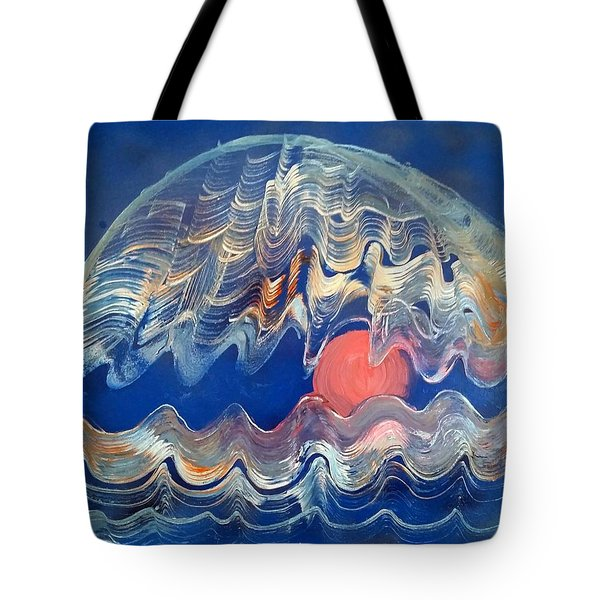 Crazy Oyster Tote Bag