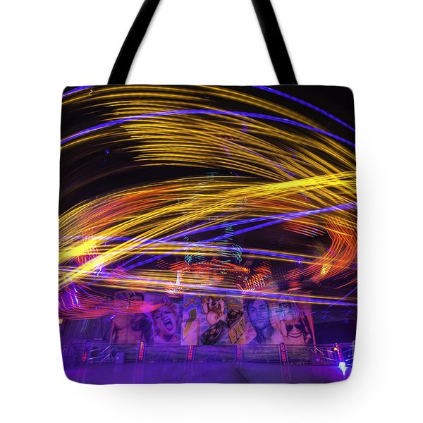 Crazy Ride Tote Bag