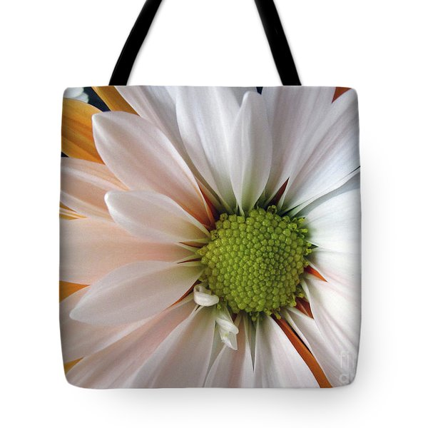 Tote Bag featuring the photograph Creamsicle by Jean OKeeffe Macro Abundance Art