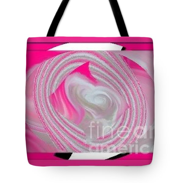 Tote Bag featuring the digital art Callie by Catherine Lott