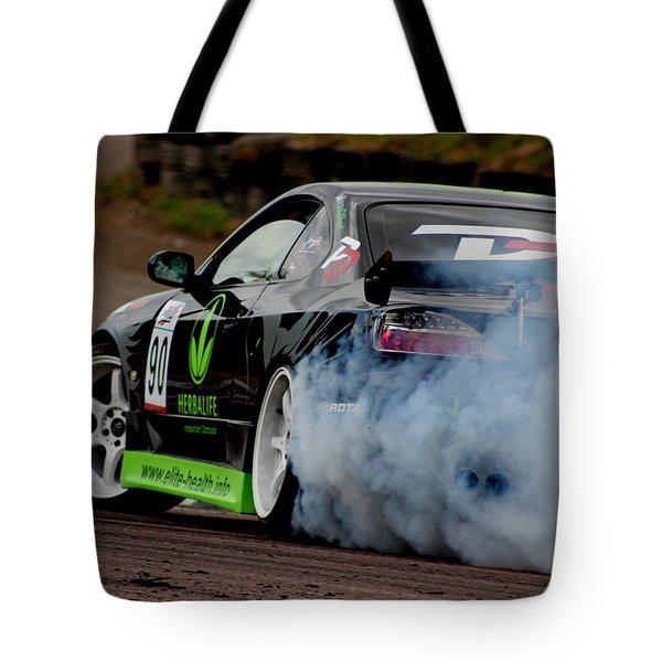 Creating Smoke Tote Bag