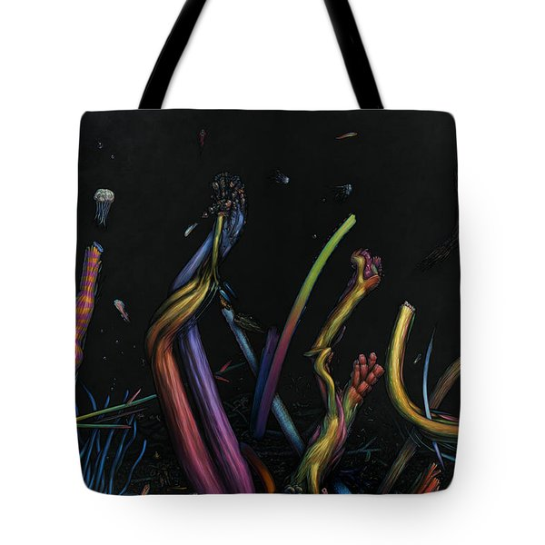 Creation Tote Bag by James W Johnson