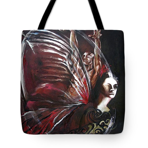 Creation Of Subspecies Tote Bag by Karina Llergo