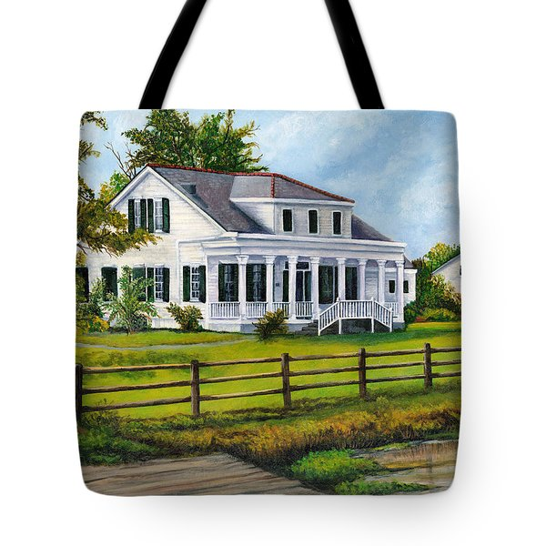 Creedmoor Plantation Tote Bag by Elaine Hodges