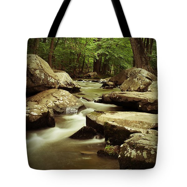 Creek At St. Peters Tote Bag