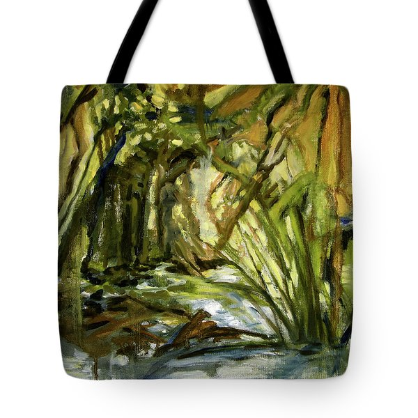 Creek Levels With Overhang Tote Bag