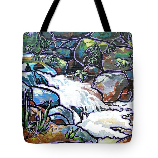Creek Tote Bag by Nadi Spencer