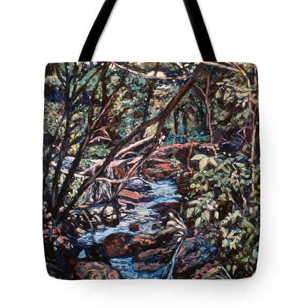 Creek Near Smart View Tote Bag by Kendall Kessler