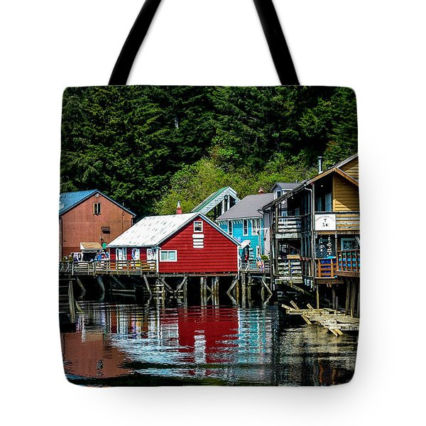 Creek Street - Ketchikan Alaska Tote Bag