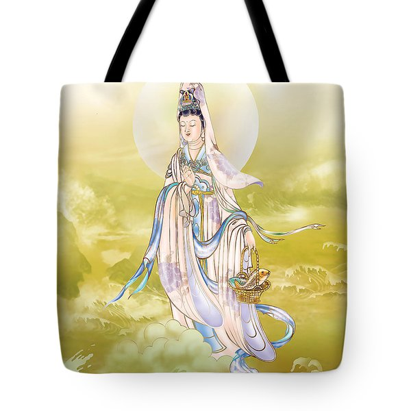 Tote Bag featuring the photograph Creel Kuan Yin by Lanjee Chee