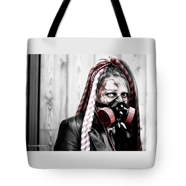 Creepy Red Vision Tote Bag