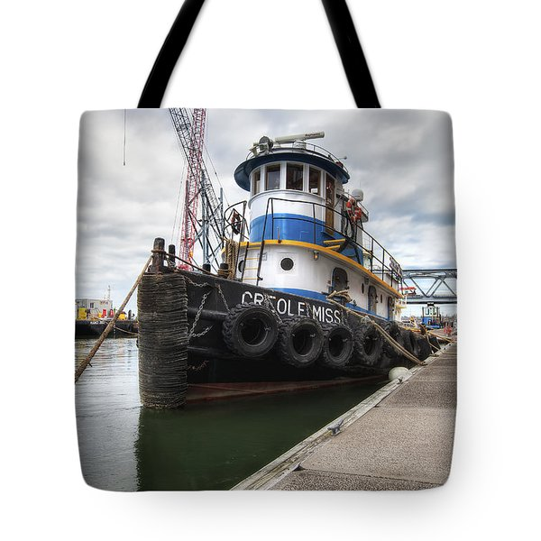 Creole Miss Tote Bag by Eric Gendron