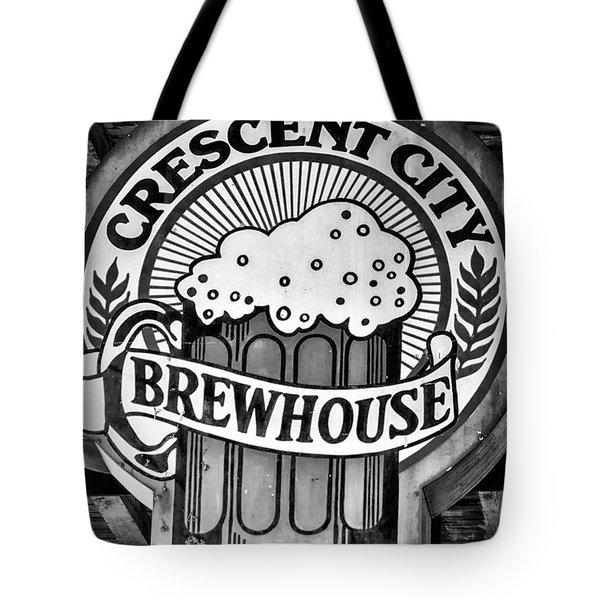 Crescent City Brewhouse - Bw Tote Bag