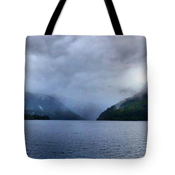 Crescent Lake Tote Bag