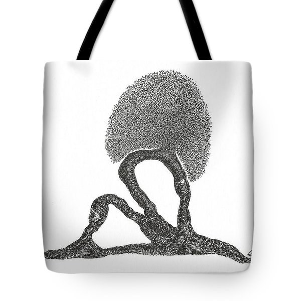 Crescent Lunge Tote Bag
