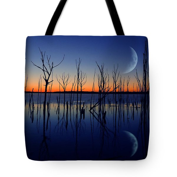 The Crescent Moon Tote Bag