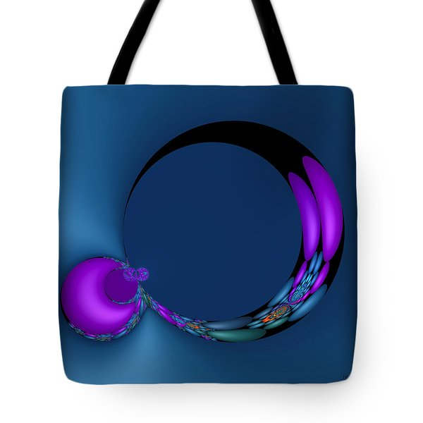 Crescent Moons Tote Bag by Judi Suni Hall