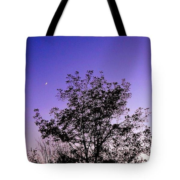 Crescent Solace In Grace Tote Bag by Gem S Visionary