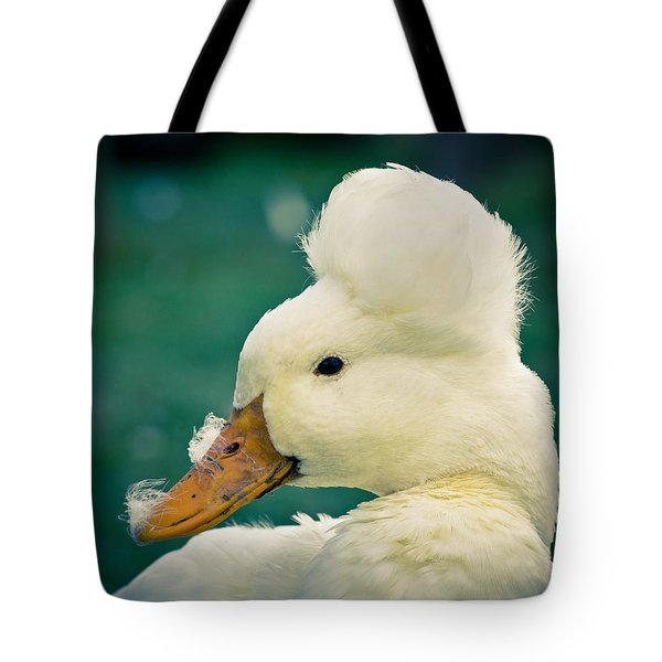 Crested Duck Tote Bag