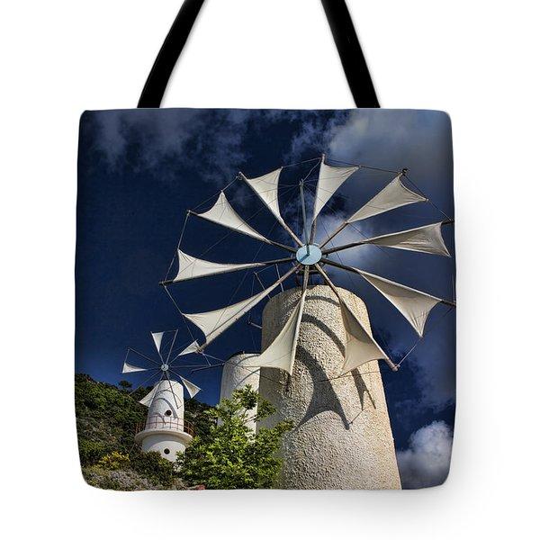 Creton Windmills Tote Bag