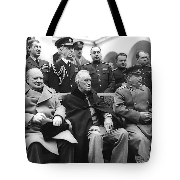 Crimean Conference In Yalta Tote Bag