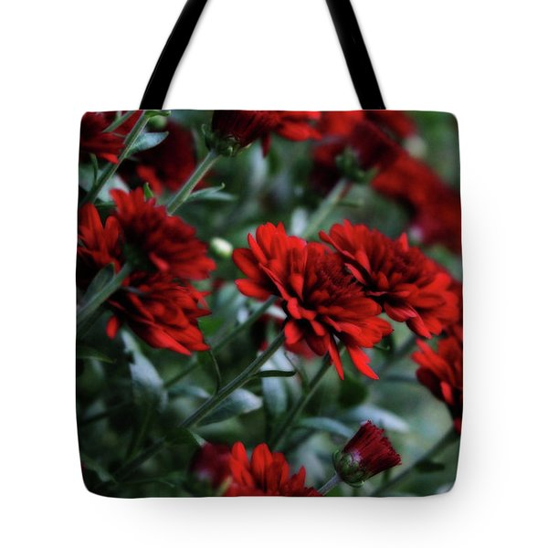 Crimson And Clover Tote Bag