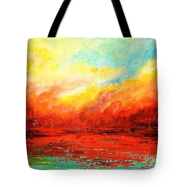 Crimson No.2 Tote Bag