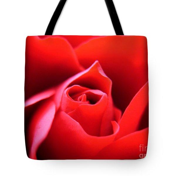 Crimson Tote Bag by Patti Whitten