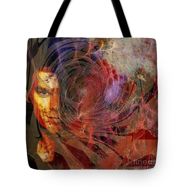 Crimson Requiem - Square Version Tote Bag